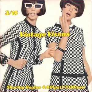 MONDAY 3/15 Vintage Vixens Sign Up Sheet